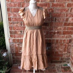 Chelsea & Violet XS Dress Coral NWT